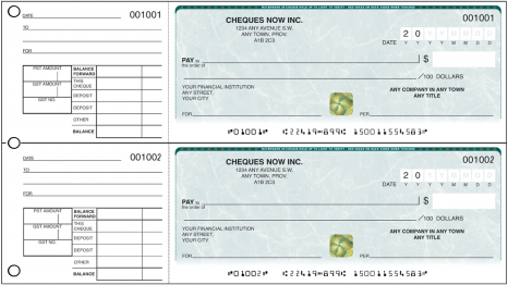 cheque printing system