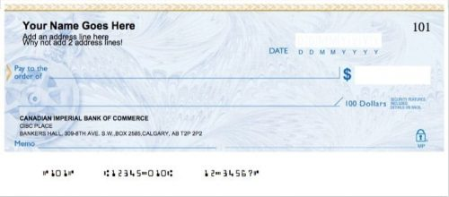 Chèque personnel